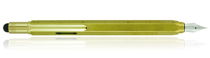 Brass Monteverde One Touch Stylus Tool Fountain Pens
