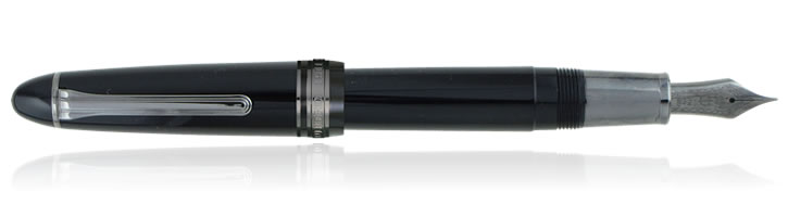 Sailor 1911 Black Luster Fountain Pens