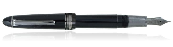 Sailor 1911 Black Luster Fountain Pens