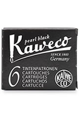 Kaweco Cartridges(6pk)  Rollerball Pen Refills in Black