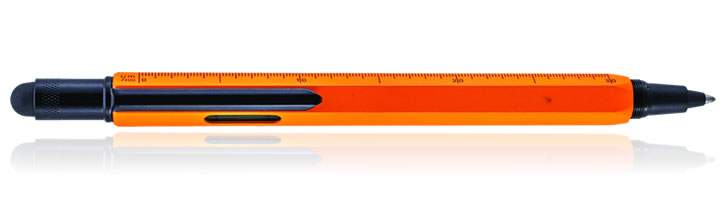 Monteverde One Touch Stylus Tool Inkball Rollerball Pens in Orange