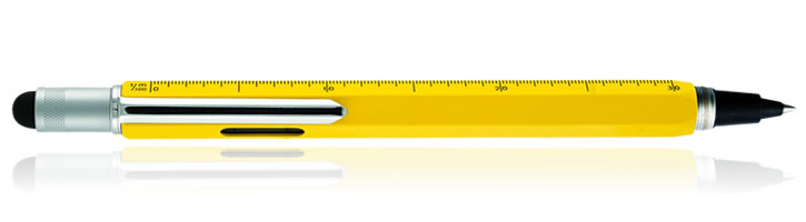 Monteverde One Touch Stylus Tool Inkball  in Yellow