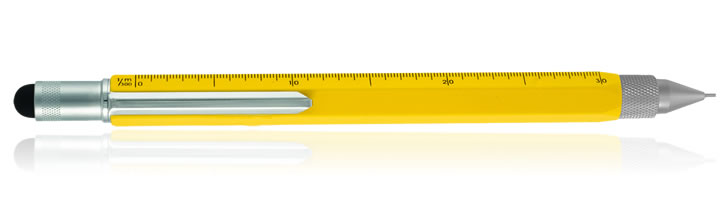 Monteverde One Touch Stylus Tool Mechanical Pencils in Yellow