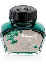 Dark Green Pelikan 4001 Bottled Ink(30ml) Fountain Pen Ink
