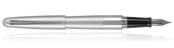 Pilot MR Metropolitan Fountain Pens in Burnished Silver