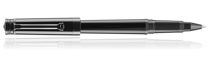Stealth Black Montegrappa Parola Rollerball Pens