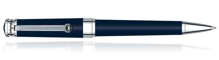 Navy Blue Montegrappa Parola Ballpoint Pens