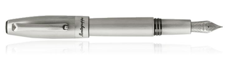 Silver Montegrappa Fortuna Fountain Pens