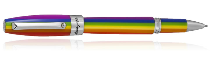 Montegrappa Fortuna Rollerball Pens in Rainbow