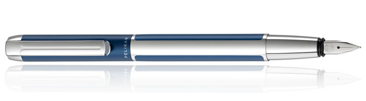 Pelikan Pura Fountain Pens in Blue