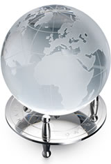 Dalvey Desk Globe & Stand