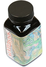 Noodlers Bottled(3oz) Fountain Pen Ink in Bad Black Moccasin