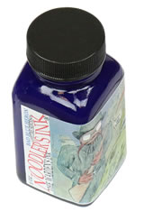 Noodlers Bottled(3oz) Fountain Pen Ink in Bad Blue Heron