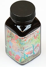 Noodlers Bottled(3oz) Fountain Pen Ink in Black Swan in Australian Roses