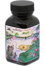 Noodlers Bottled(3oz) Fountain Pen Ink in Black Swan in English Roses