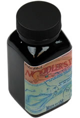 Noodlers Bottled(3oz) Fountain Pen Ink in Polar Black