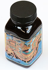 Qin Shi Huang - First Emperor of China Red Noodlers Bottled(3oz) Fountain Pen Ink