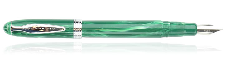 Noodlers Ahab Fountain Pens in Jade