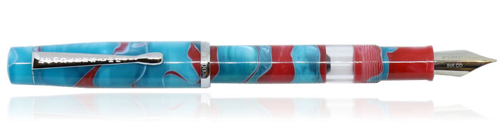 Noodlers Konrad Fountain Pens in Coral Sea