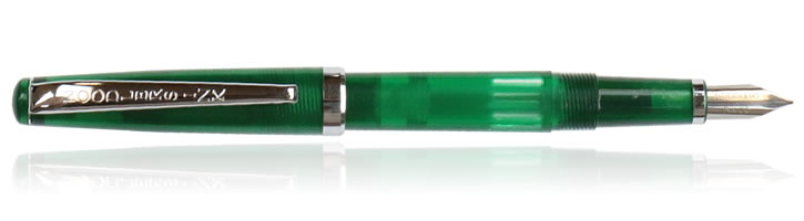 Noodlers Standard Flex Creaper Fountain Pens in Max Emerald