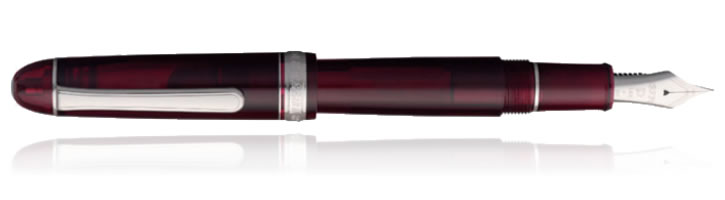 Bourgogne Rhodium Platinum 3776 Century Fountain Pens