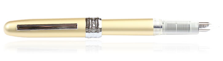 Platinum Plaisir Fountain Pens in Gold
