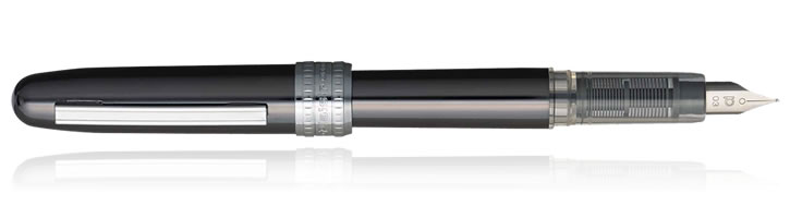 Gun Metal Platinum Plaisir Fountain Pens