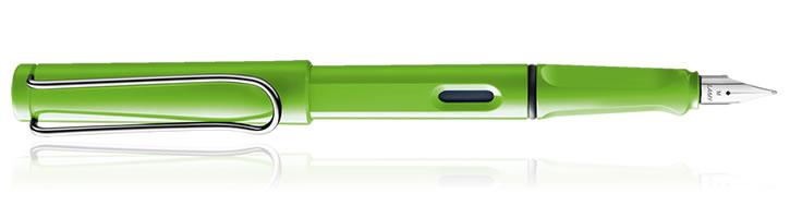 Green Lamy Safari Fountain Pens