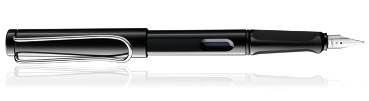 Lamy Safari Fountain Pens in Shiny Black