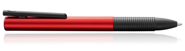 Lamy Tipo Rollerball Pens in Aluminum Red
