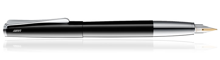 Lamy Studio Fountain Pens in Piano Black