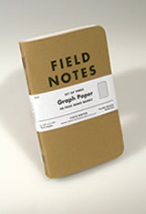 Field Notes Original Kraft 3-Pack Memo & Notebooks