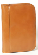 Tan Aston Leather Collector's 10 Pen Carrying Cases