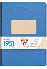 Clairefontaine 1951 Collections Memo & Notebooks in Blue