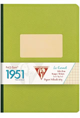 Green Clairefontaine 1951 Collections Memo & Notebooks