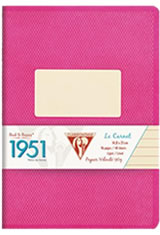 Clairefontaine 1951(48 Sheets) Memo & Notebooks in Raspberry