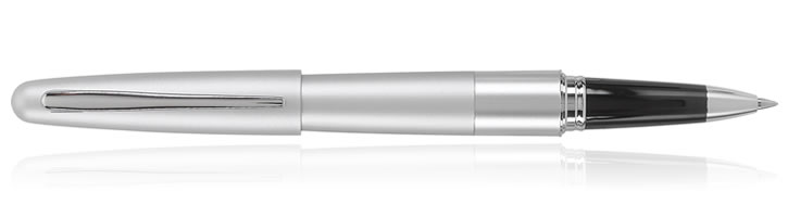 Silver Pilot Metropolitan Rollerball Pens