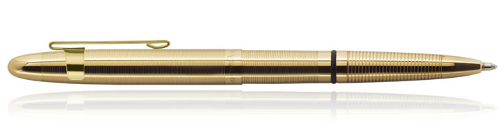 Lacquered Brass w/ Clip Fisher Space Pen Bullet Ballpoint Pens