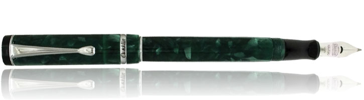 Conklin Duragraph Fountain Pens in Forest Green