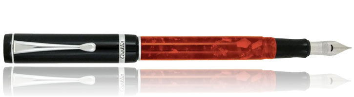 Conklin Duragraph Fountain Pens in Red Nights