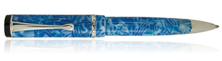 Conklin Duragraph Ballpoint Pens in Ice Blue