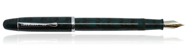 Noodlers Neponset Fountain Pens in Teal Ebonite