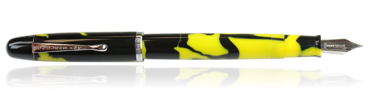 Noodlers Neponset Fountain Pens in Yellow Bald Face Hornet