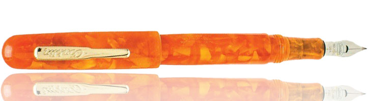 Conklin All American fountain pen in Sunburst Orange