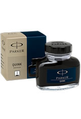 Parker Quink Bottled Ink(2oz) Fountain Pen Ink