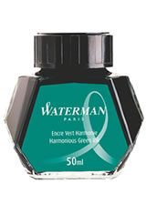 Waterman Bottled Ink(50ml) Fountain Pen Ink in Harmonious Green