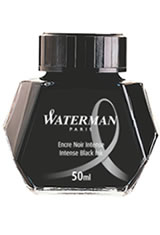 Waterman Bottled Ink(50ml) Fountain Pen Ink in Intense Black