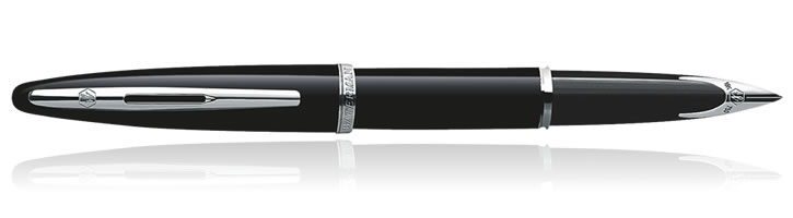 Waterman Carene Fountain Pens in Black Sea ST