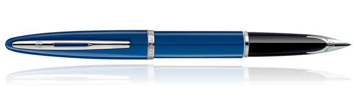 Waterman Carene Fountain Pens in Blue ST