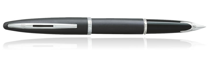 Waterman Carene Fountain Pens in Charcoal Grey ST
